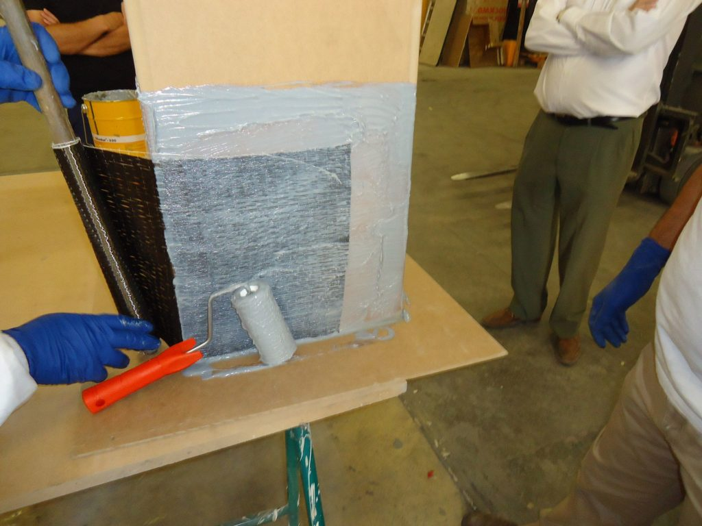 Curso de formación sobre reparación y proteccion del hormigon armado Sika y de refuerzo estructural con fibra de carbono.