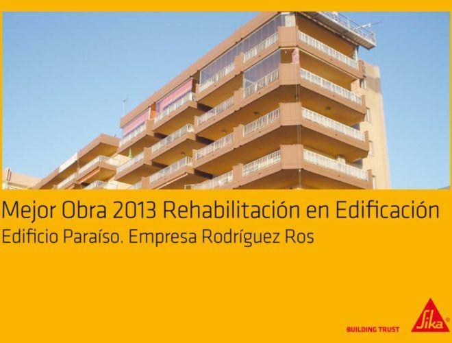 Rehabilitación de edificios 2013 sika