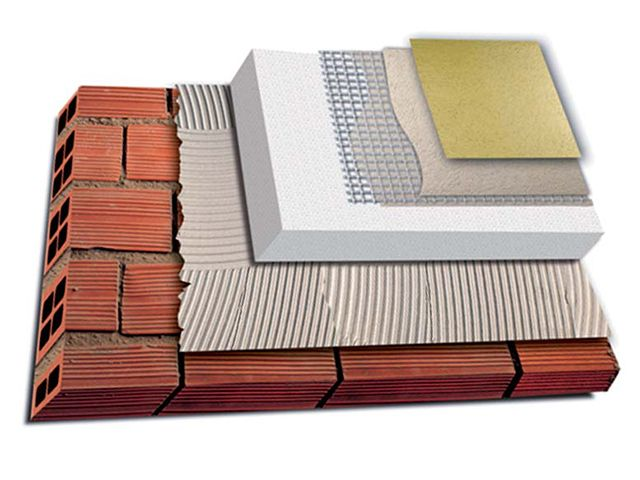 Exterior Thermal Insulation Composite System - ETICS