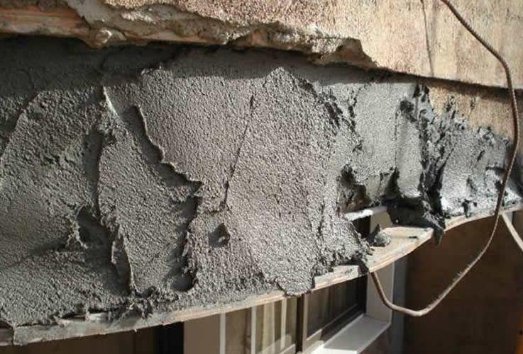 Reparación y protección del hormigón