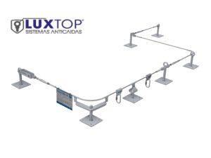 Sistemas anticaídas y líneas de vida luxtop