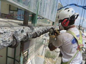 Restauración estructural de forjados de terrazas