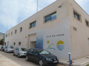 Refuerzo estructural de pilares en mega deposito ETAP Marbella de ACOSOL