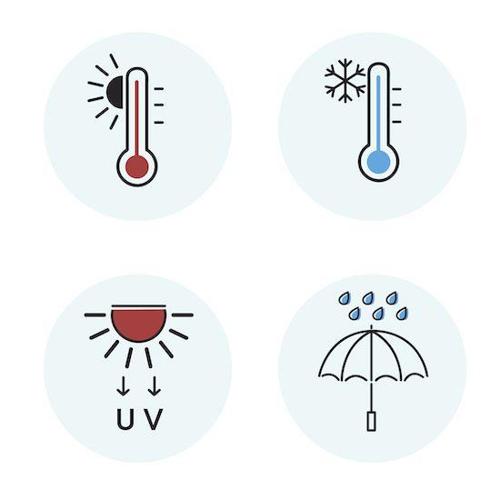 SATE en Fachadas para protección del frío y calor