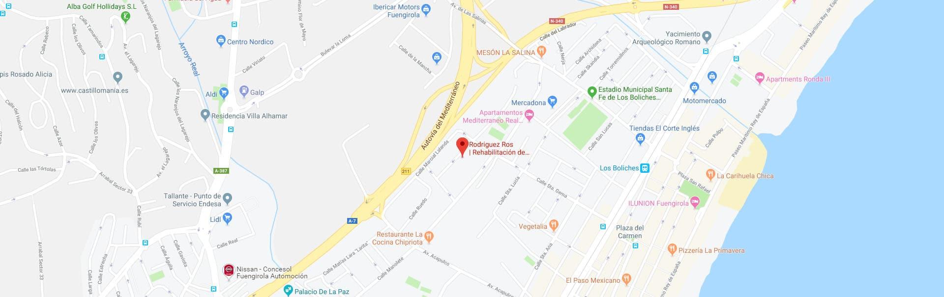 Localización de Rodriguez Ros