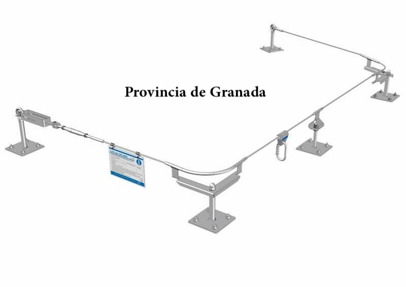 Líneas de vida Granada