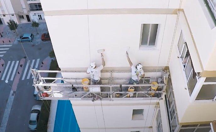 Trabajos de rehabilitación de edificios por Rodríguez Ros