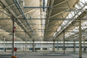 Repair of industrial warehouse roofs